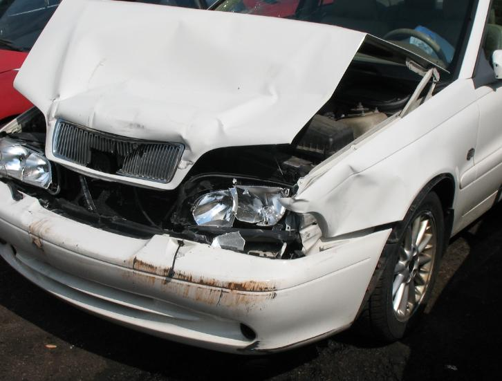 Induced Damage From Traffic Accident