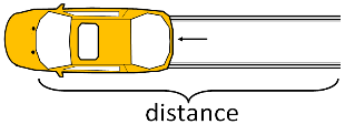 Skid Distance for Reconstruction Equation